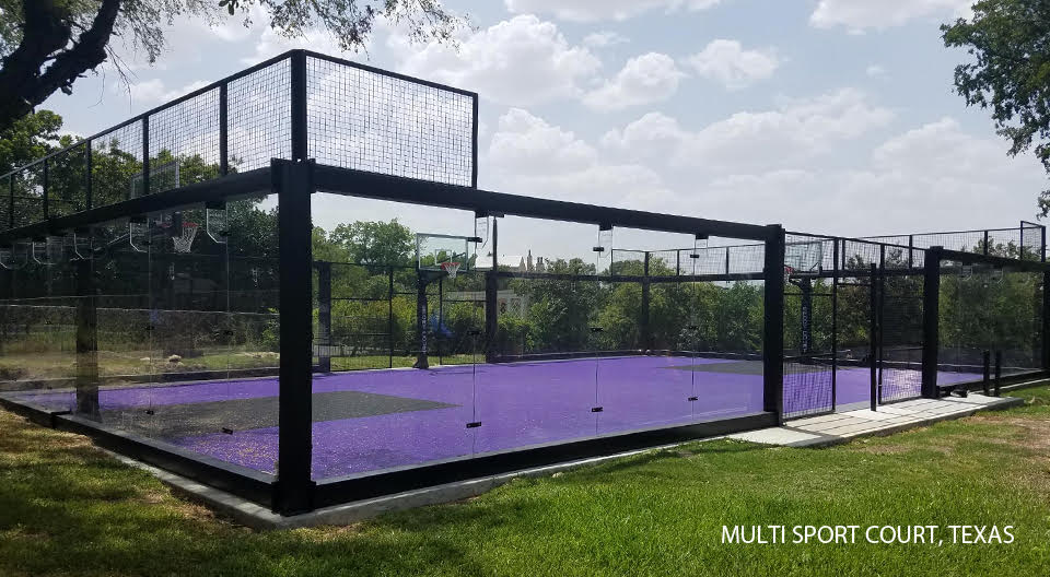 Multi Sport Court Texas