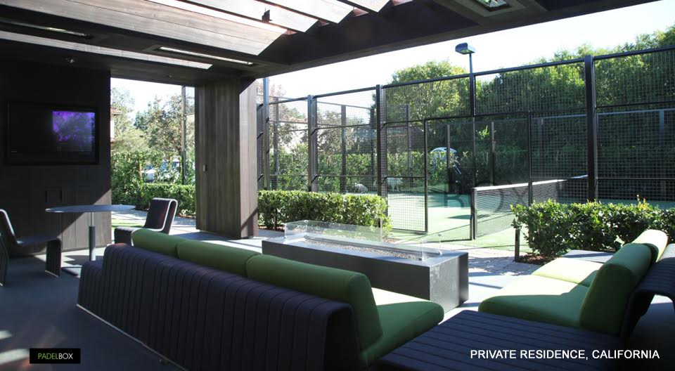 Padel court California