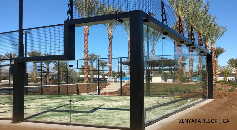 Padel court Zenyara Resort