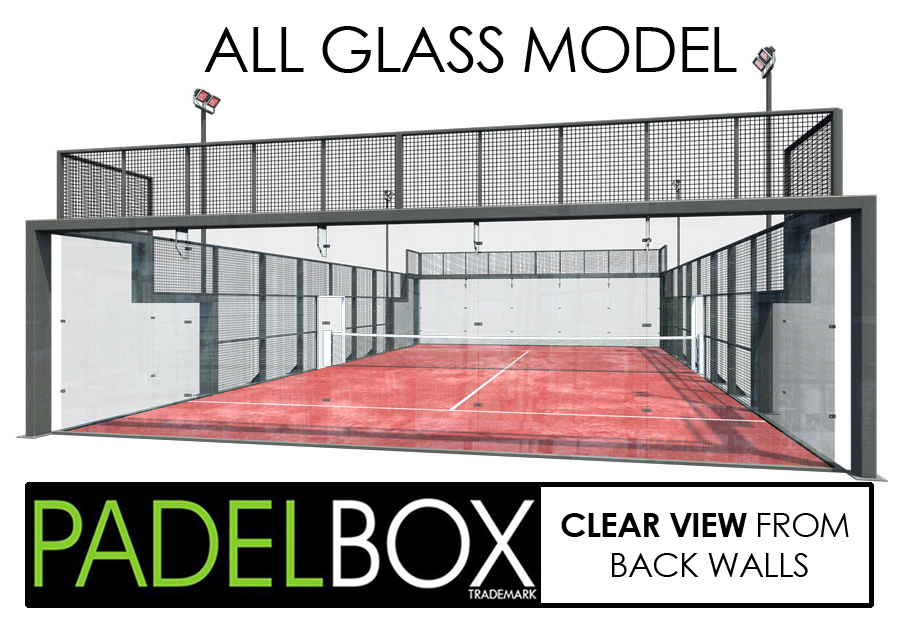 All Glass Padel Court